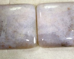 61 CTS AGATE PAIR  ANGC-515 free shipping