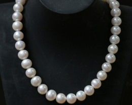 8.5mm round graded high luster  pearl strand 40cm length   PPP148
