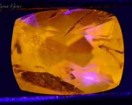 0.620 ct Natural Fluorescent Scapolite