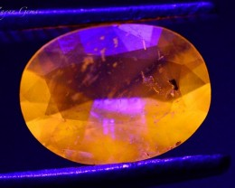 0.605 ct Natural Fluorescent Scapolite