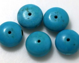 12 CTS TURQUOISE BEADS NP-1717
