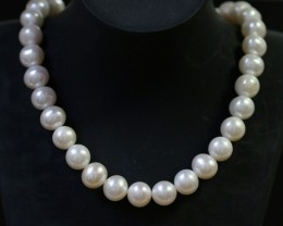 10 mm Oval Champagne strand Pearls PPP155