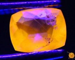 0.385 ct Natural Fluorescent Scapolite
