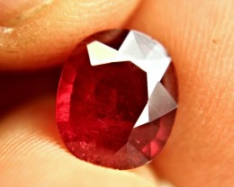 4.0 Carat Fiery Pigeon Blood Ruby - Gorgeous