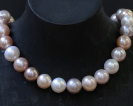 11mm  Palette of Colours natural  strand Pearls PPP189