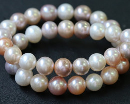 11 mm  Palette of Colours natural  strand Pearls PPP191