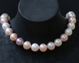 11mm  Palette of Colours natural  strand Pearls PPP192