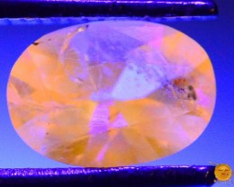 0.560 ct Natural Fluorescent Scapolite