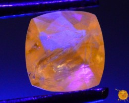 0.365 ct Natural Fluorescent Scapolite