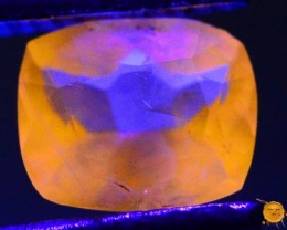 0.395 ct Natural Fluorescent Scapolite