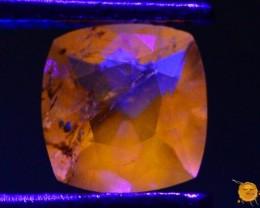 0.410 ct Natural Fluorescent Scapolite