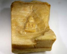 WOOD CARVING BURMA-BUDDHA  182.5 CTS LT-634