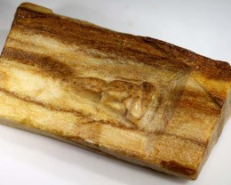 WOOD CARVING BURMA-BUDDHA 170 CTS LT-635