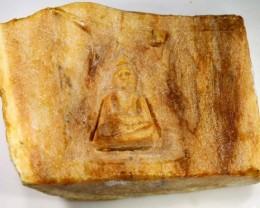 WOOD CARVING BURMA-BUDDHA 230 CTS LT-643