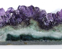 66.60 CTS AMETHYST SLICE HIGH QUALITY LG-1459