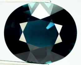 22.56 Cts Natural Indigo Blue Tourmaline Oval Faceted Mozambique 8800$