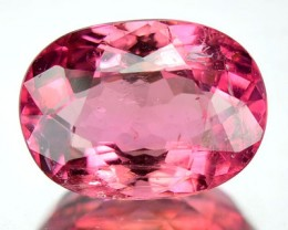 2.11 Cts Natural Sweet Pink Tourmaline Oval Faceted MozambiqueGem