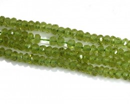 24.20 CTS PERIDOT BEADS FACETED NP-1754