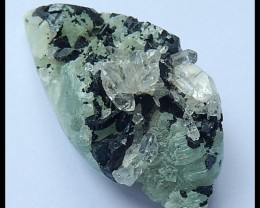 Natural Babingonite With Prehnite Mineral Specimens,76cts