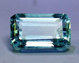 3.95 Cts Unheated, Natural & Stunning  Aquamarine Gemstone