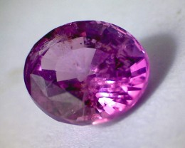 2.85ct Lovely Unheated Purple Pink Sapphire, Ceylon, SL50 PRICE REDUCED