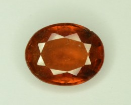 2.60 ct TOP LUSTER CINNAMON ORANGE HESSONITE GARNET