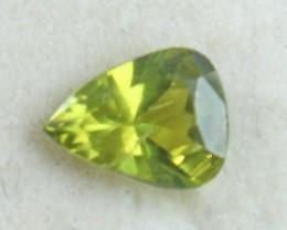 1.30 CT Natural Demontoid green garnet gemstone