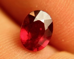1.89 Carat Fiery Pigeon Blood Ruby - Superb