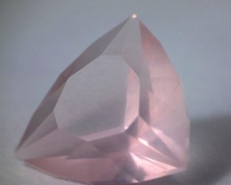 MASTER CUT: 2.65ct Lovely Rose Pink, Rose Quartz, Near Flawless TR04
