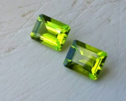 5.55 Cts.Magnificient Top Sparkling Intense Green Peridot GEM