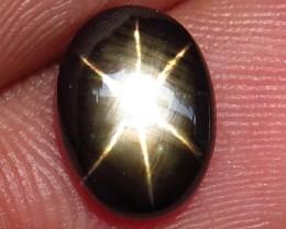 3.34 Carat Thailand Black Star Sapphire