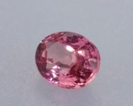 1.16ct Pink Orange Sapphire Oval Cut