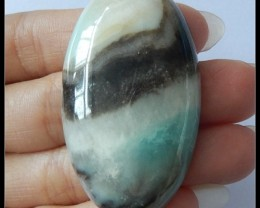 123Ct Natural Amazonite Gemstone Cabochon