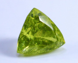 3.70 CT Natural Demontoid green garnet gemstone