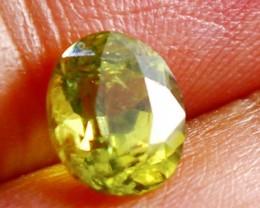 1.90 CT Natural Demontoid green garnet gemstone