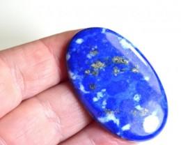 45mm 73ct Afghani Lapis Lazuli cabochon AAA