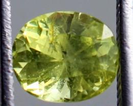 1.05 CT Natural Demontoid green garnet gemstone