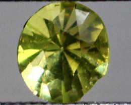 0.45 CT Natural Demontoid green garnet gemstone