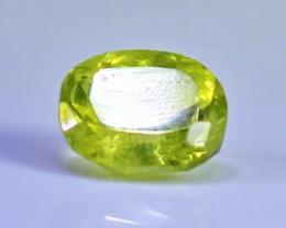1.35 CT Natural Demontoid green garnet gemstone