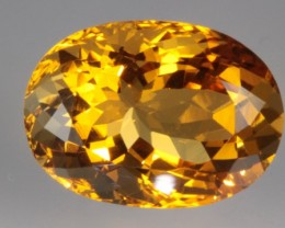$25 OFF!  10.12 ct CITRINE - EXCELLENT LUSTER AND COLOR!