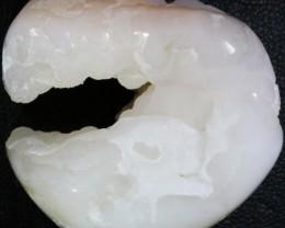 162.35 Cts Polished Peru opal-Druzy Chalcedony specimen PPP242