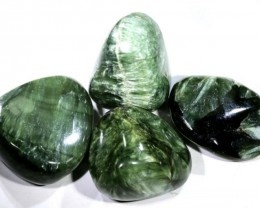 140 CTS GREEN SERAPHINITE  PARCEL ADG-1588