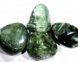 140 CTS GREEN SERAPHINITE  PARCEL ADG-1588