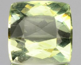 3.06 Cts Natural Mint Green Beryl Cushion Cut Brazil Gem