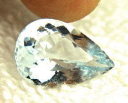 7.55 Carat VS Blue Brazil Aquamarine - Gorgeous