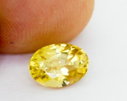 2.56 Ct Yellow Zircon