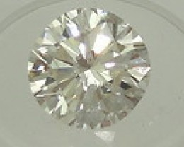 NATURAL-SOLITIARE WHITE DIAMOND-6.5MM -1CTWSIZE, NR
