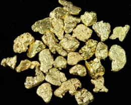 One Gram 14 screen Yukon Gold nuggets LGN 1397