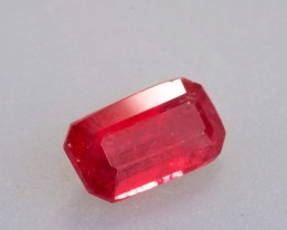 2.83ct Emerald Cut Gem Quality Rhodonite (Extremely Rare)