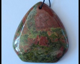 Natural Unikaite Jasper Pendant Bead,116 Ct(D0015)